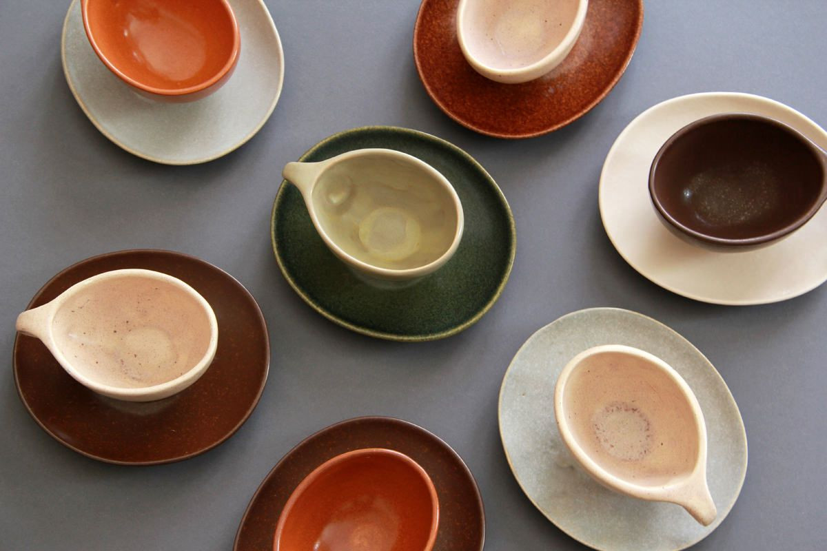 roseville pottery green vase of raymor coffee set by ben seibel for roseville pottery 1952 for sale regarding raymor coffee set by ben seibel for roseville pottery 1952