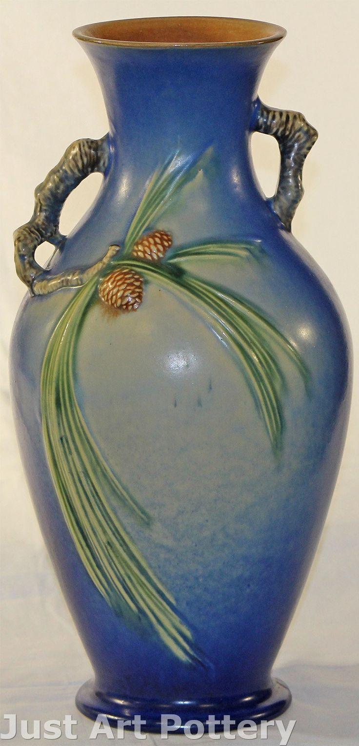 roseville usa vase value of 254 best roseville pottery images on pinterest antique pottery inside roseville pottery pine cone blue vase 807 15