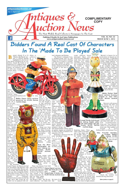 roseville usa vase value of antiques auction news 060112 by antiques auction news issuu in page 1
