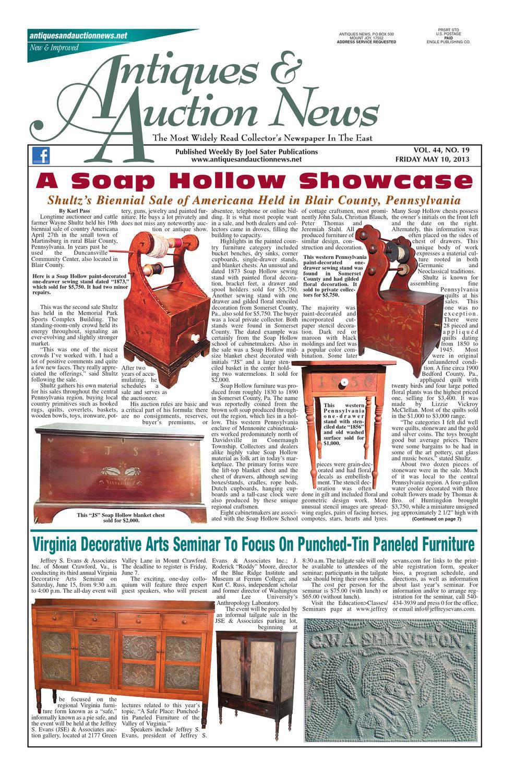 roseville vase patterns of antiques auction news 051013 by antiques auction news issuu inside page 1
