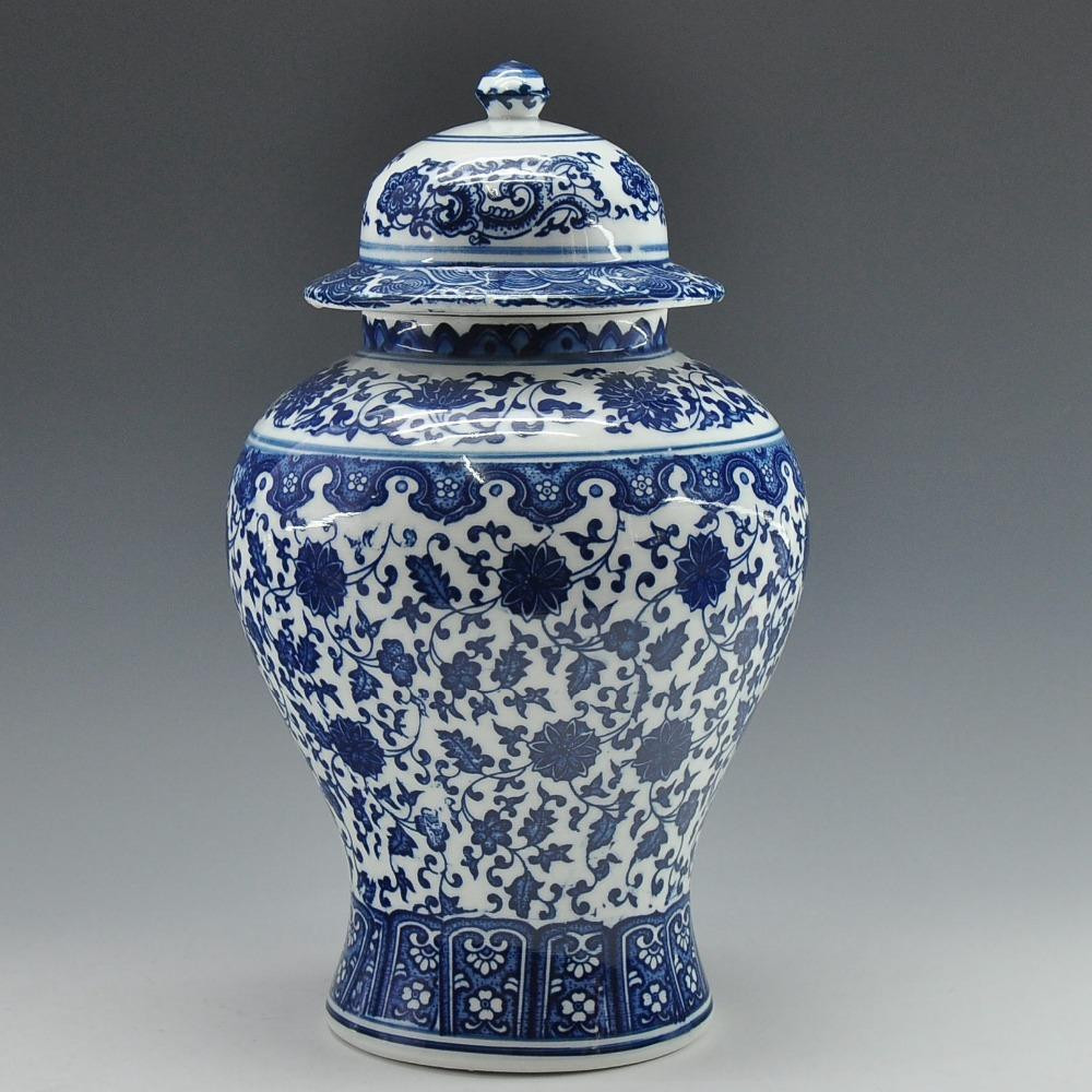 Round Ceramic Vase Of 2018 wholesale Chinese Antique Qing Qianlong Mark Blue and White Intended for 2018 wholesale Chinese Antique Qing Qianlong Mark Blue and White Ceramic Porcelain Vase Ginger Jar From sophine11 128 94 Dhgate Com