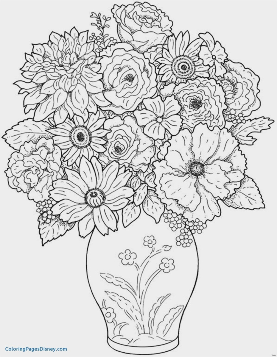 round flower vase of 30 free flower coloring pages for adults hd picture best graphics regarding best flower coloring pages for adults ideas