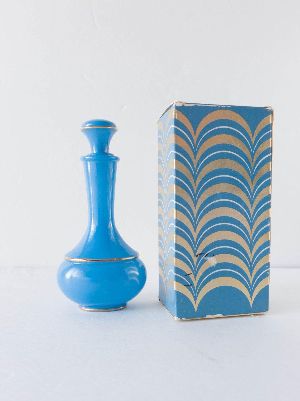 royal blue flower vase of empty avon blue gold glass decanter royal vase bath oil bathroom with regard to empty avon blue gold glass decanter royal vase bath oil bathroom vanity perfume cologne bottle jar shabby cottage decor by forestdaydream on etsy