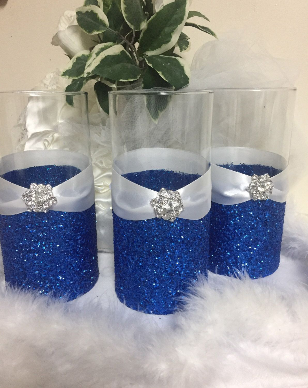 royal blue vase fillers of royal blue vases photograph wedding centerpiece glitter vase bridal within gallery of royal blue vases