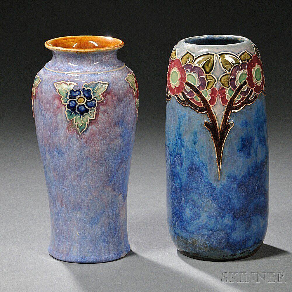 Royal Copenhagen Vases Of Royal Blue Vases Photos Two Royal Doulton Stoneware Vases Moorcroft Throughout Royal Blue Vases Photos Two Royal Doulton Stoneware Vases Moorcroft Pinterest