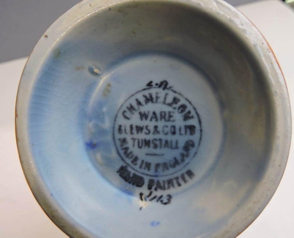 royal doulton vase of antiques vintage pottery toronto moorcroft doulton bernardis within chameleon ware pottery art deco vase