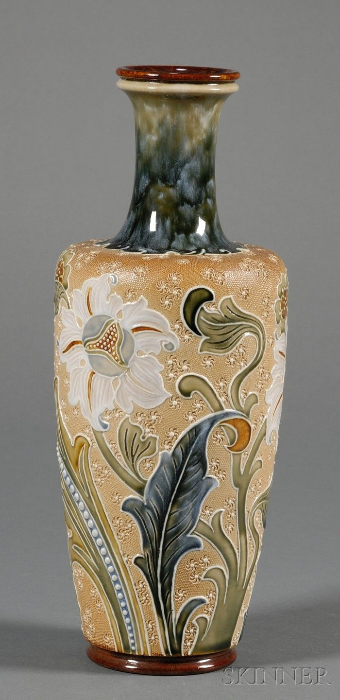 royal doulton vase patterns of 14 best dishes and glassware images on pinterest for doulton lambeth stoneware vase england late 19th century enameled and raised floral decoration