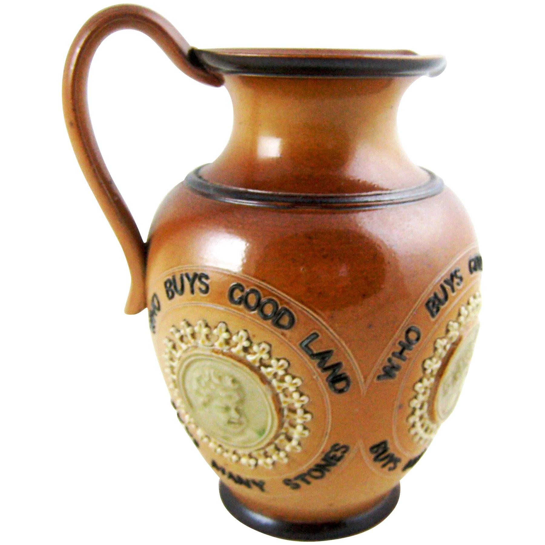 21 Elegant Royal Doulton Vases 1900