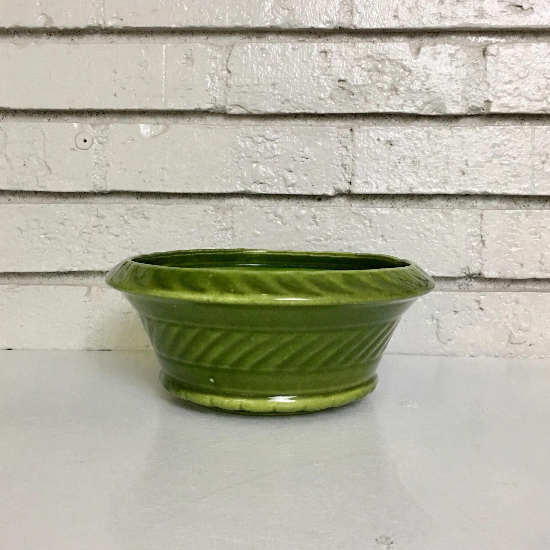 royal haeger usa vase of vintage mossy green haeger ceramic bowl within il fullxfull 1294520886 89qk