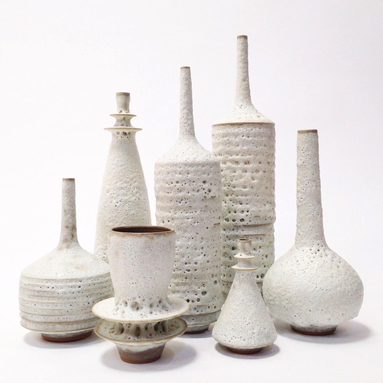 """royal haeger vase of made to order large collection of 7 sculptural modern inside dŸ""""Žzoom"""