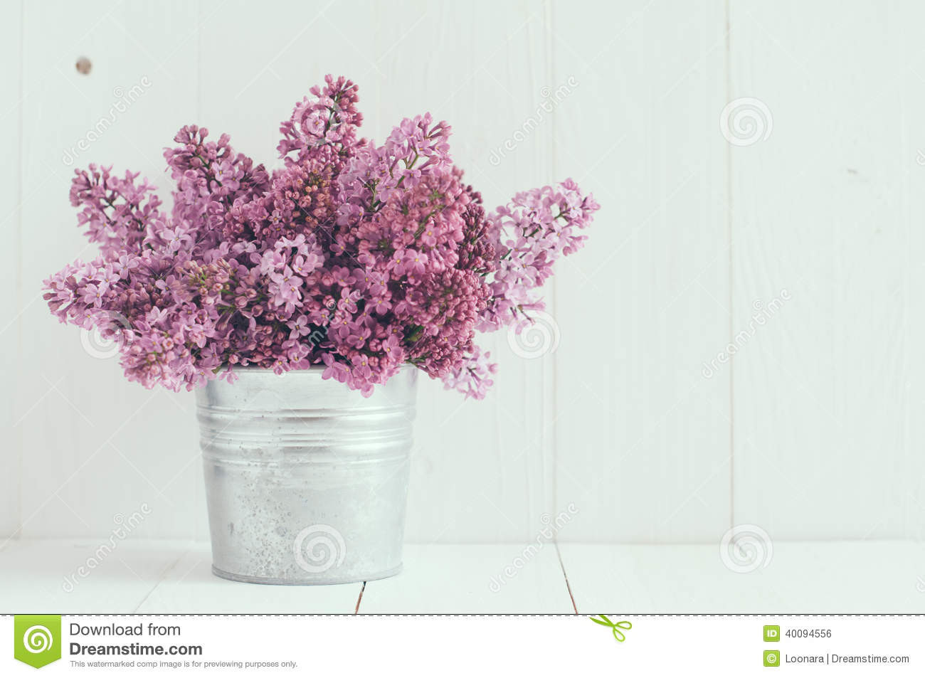 rustic flower vase ideas of flowers of lilac stock photo image of floristic country 40094556 regarding bouquet of beautiful spring flowers of lilac in a vase on a white vintage wooden board home decor in a rustic style