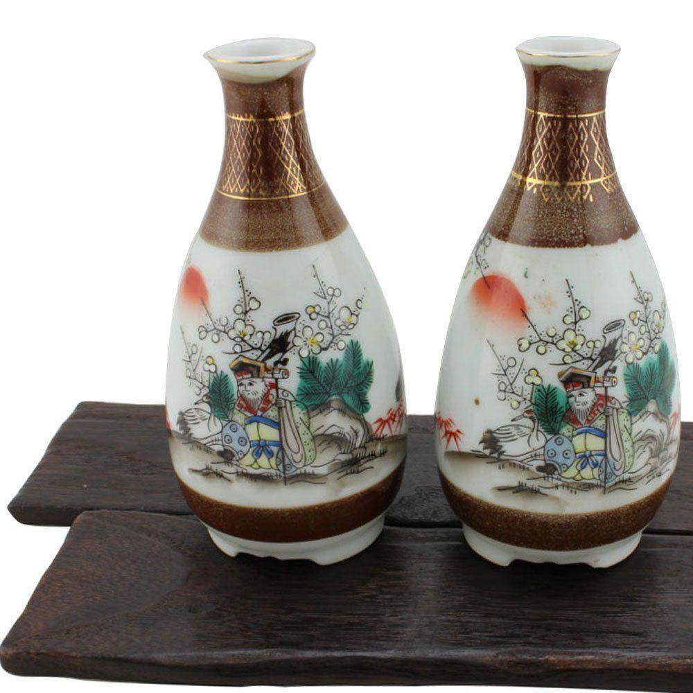 rustic pottery vases of japanese vintage ceramic incense holder japanese pottery t in japanese vintage ceramic sake set traditional japanese sake bottle set good luck sake set vase gift