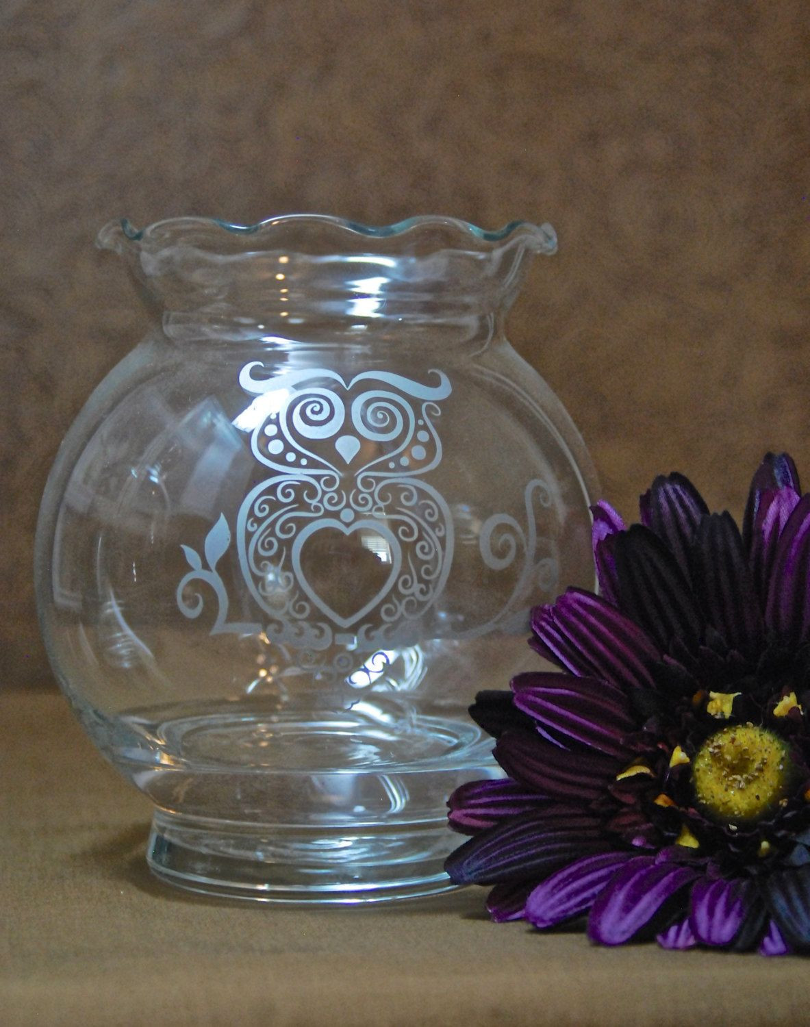 Sand Art Glass Vases Of Rose Bowl Vases Stock Round Bottom Vase New Doors H Vases Vase for Rose Bowl Vases Gallery Glass Etched Silver Owl Rose Bowl Vase Sandblasted Sand Carved Of Rose