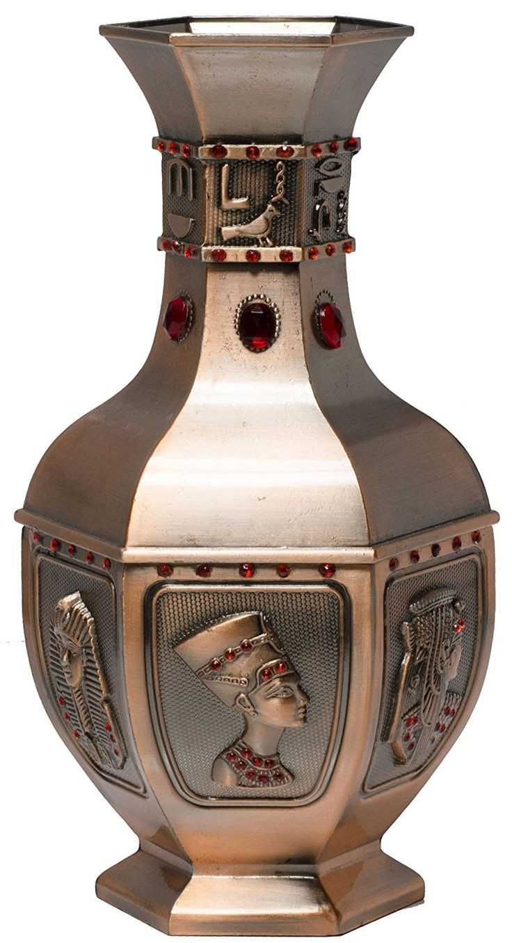 sand ceremony nesting vases of 244 best vases images on pinterest the sale vases and for the intended for egypt vase zinc alloy 7 9 copper bronze colored vase with 3d ancient egyptian carvings