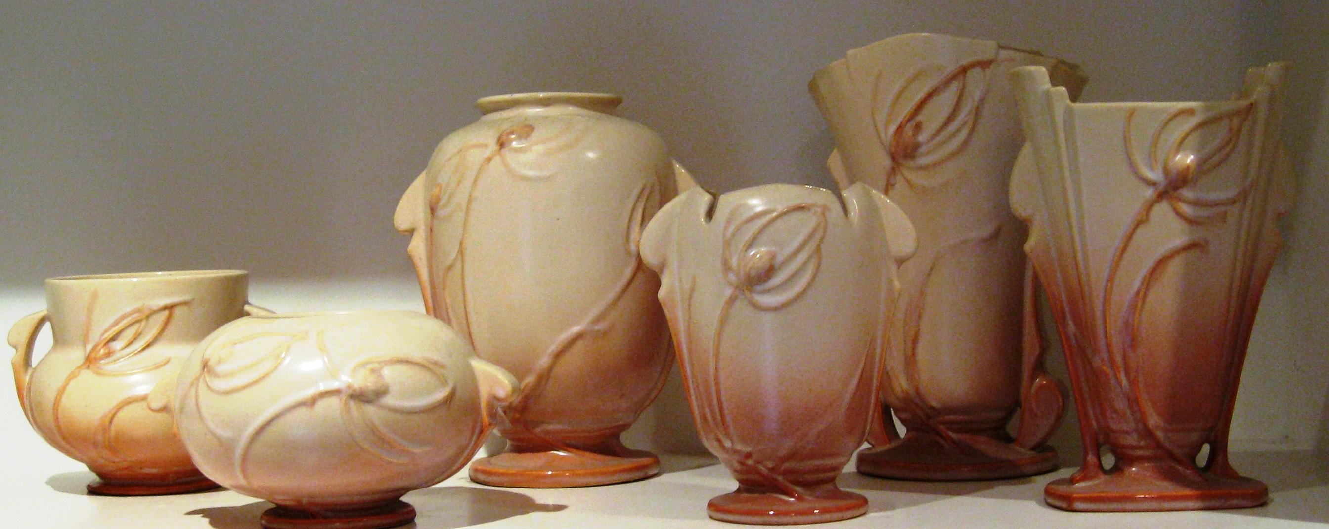 sascha brastoff vase of sascha brastoff billy blue eye pottery paintings regarding roseville pottery