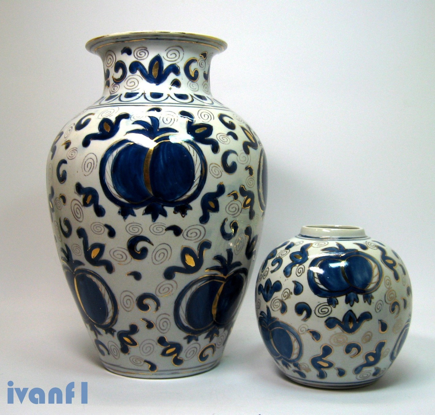 satsuma porcelain vase of dve kineske vaze satsuma replike kupindo com 38589439 within dve kineske vaze satsuma replike