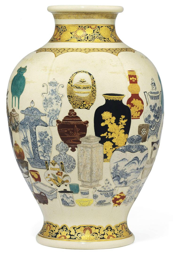 Satsuma Vase Value Of 2520 Best Oo²u OŒ OaouuŠo§oa Images On Pinterest Porcelain Vases and Pertaining to A Satsuma Vase Signed Satsuma Yaki Kaishu Ga Meiji Period Late 19th Century