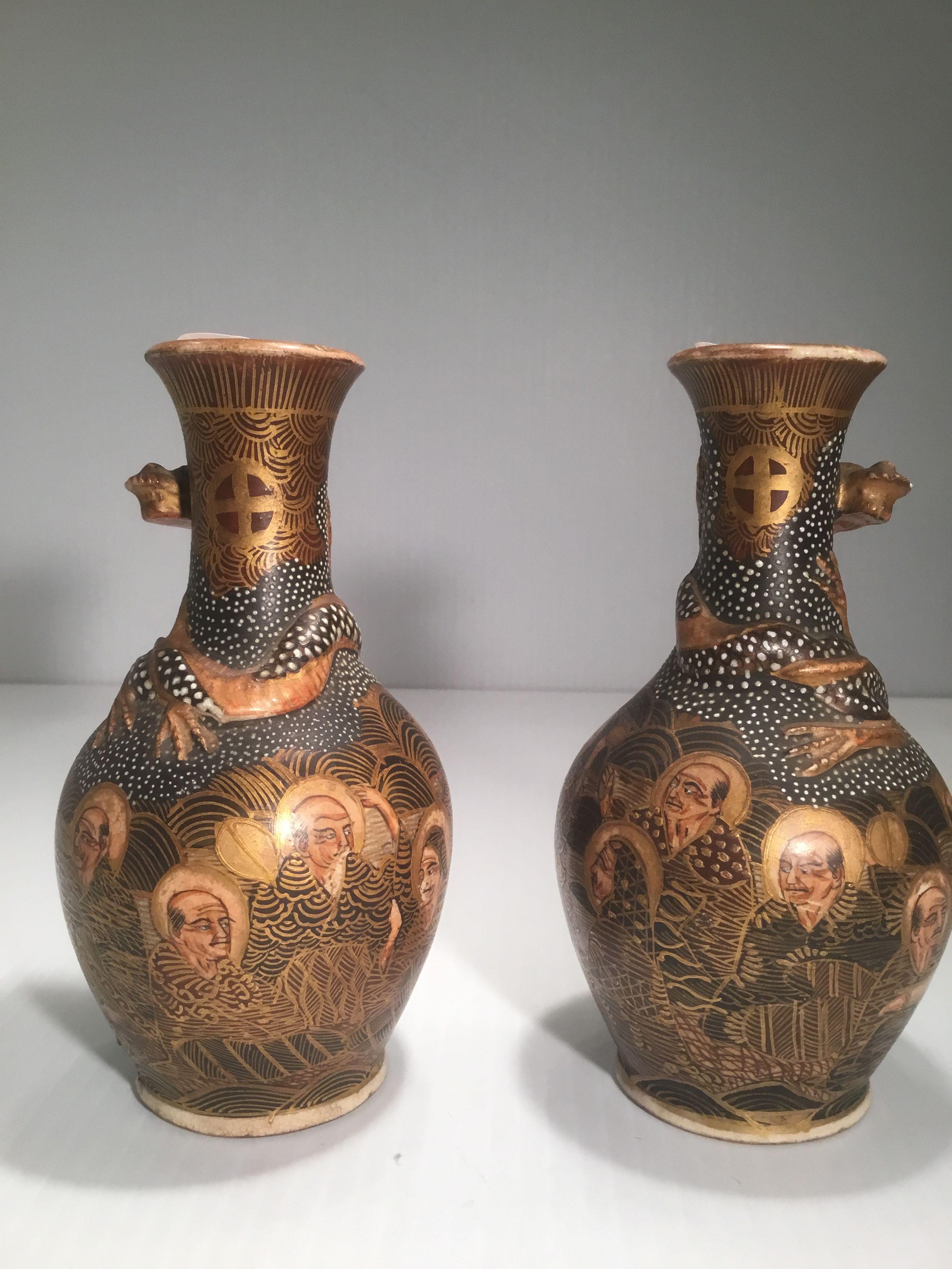 satsuma vase value of hododa satsuma vases pinterest ware f c pertaining to hododa