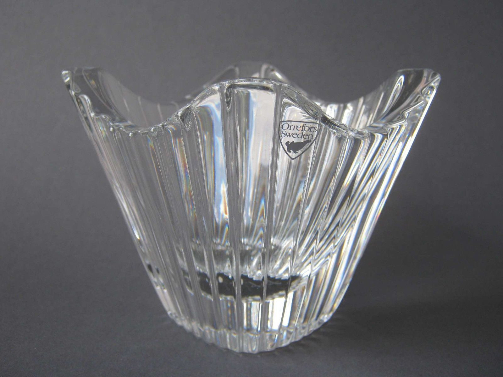 scandinavian glass vase of 49 orrefors sweden vase the weekly world regarding glas vase schale orrefors sweden signiert original label glass