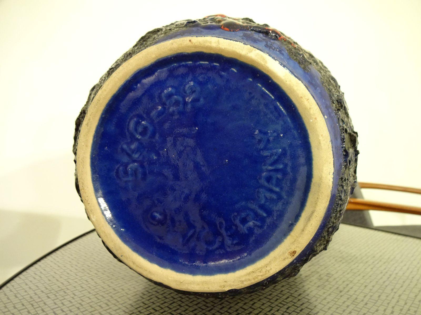 scheurich keramik vase of groaŸe fat lava keramik vase von scheurich 1970er bei pamono kaufen regarding preis 23000 e regula¤rer preis 30000 e