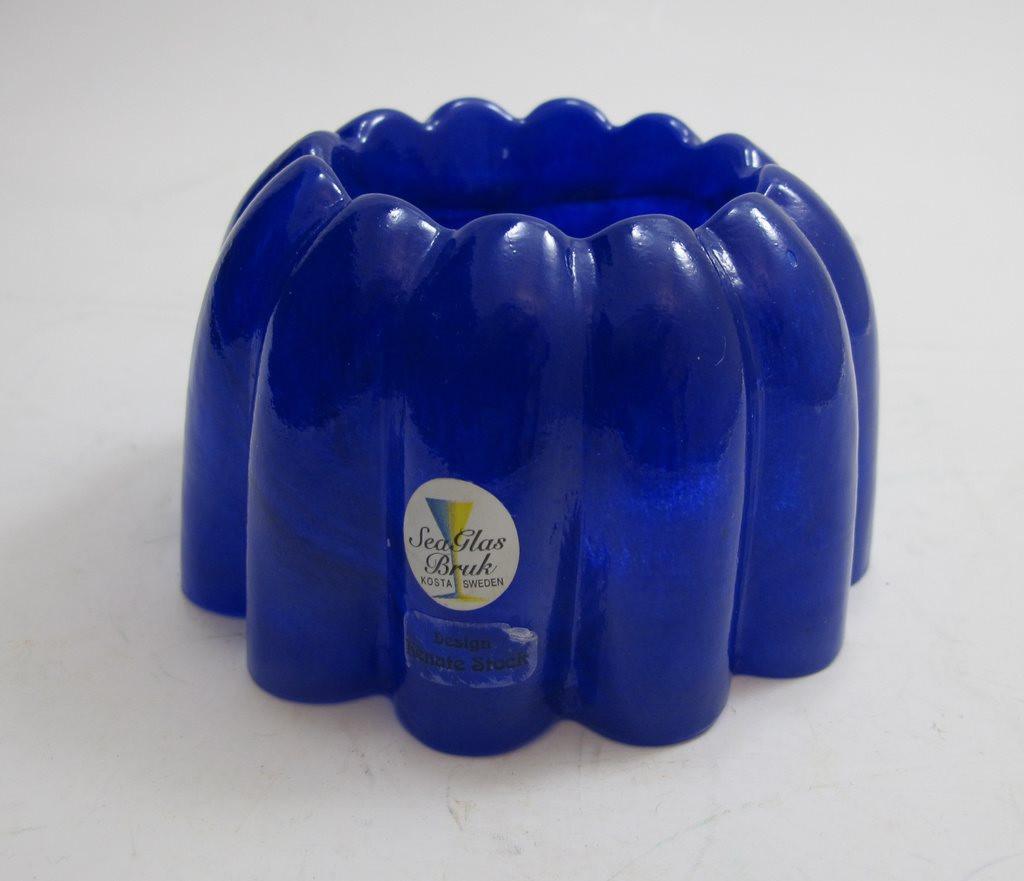 sea glasbruk vase of ljuslykta i bla¥tt konstglas sea glasbruk 296535352 aˆ hulfab pa¥ regarding ljuslykta i bla¥tt konstglas sea glasbruk