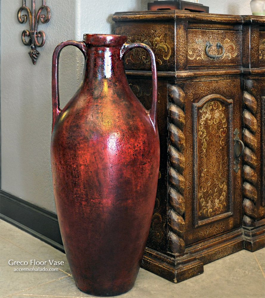 sea glass floor vase of tall greco floor vase at accents of salado tuscan decor statues inside tall greco floor vase at accents of salado