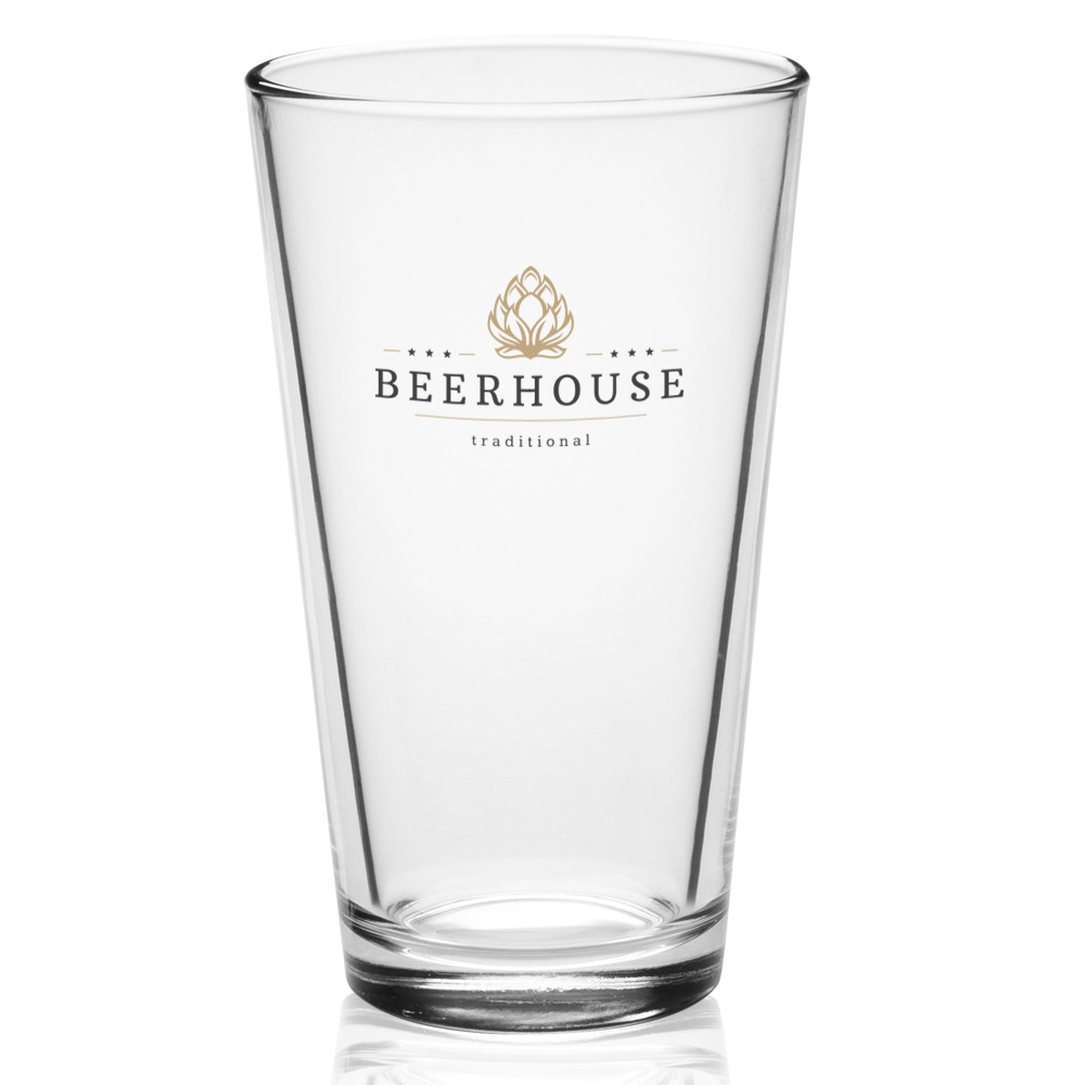 Short Square Glass Vases Bulk Of Personalized 16 Oz Libbey Pint Glasses 5139 Discountmugs Intended for Clear A· Blue
