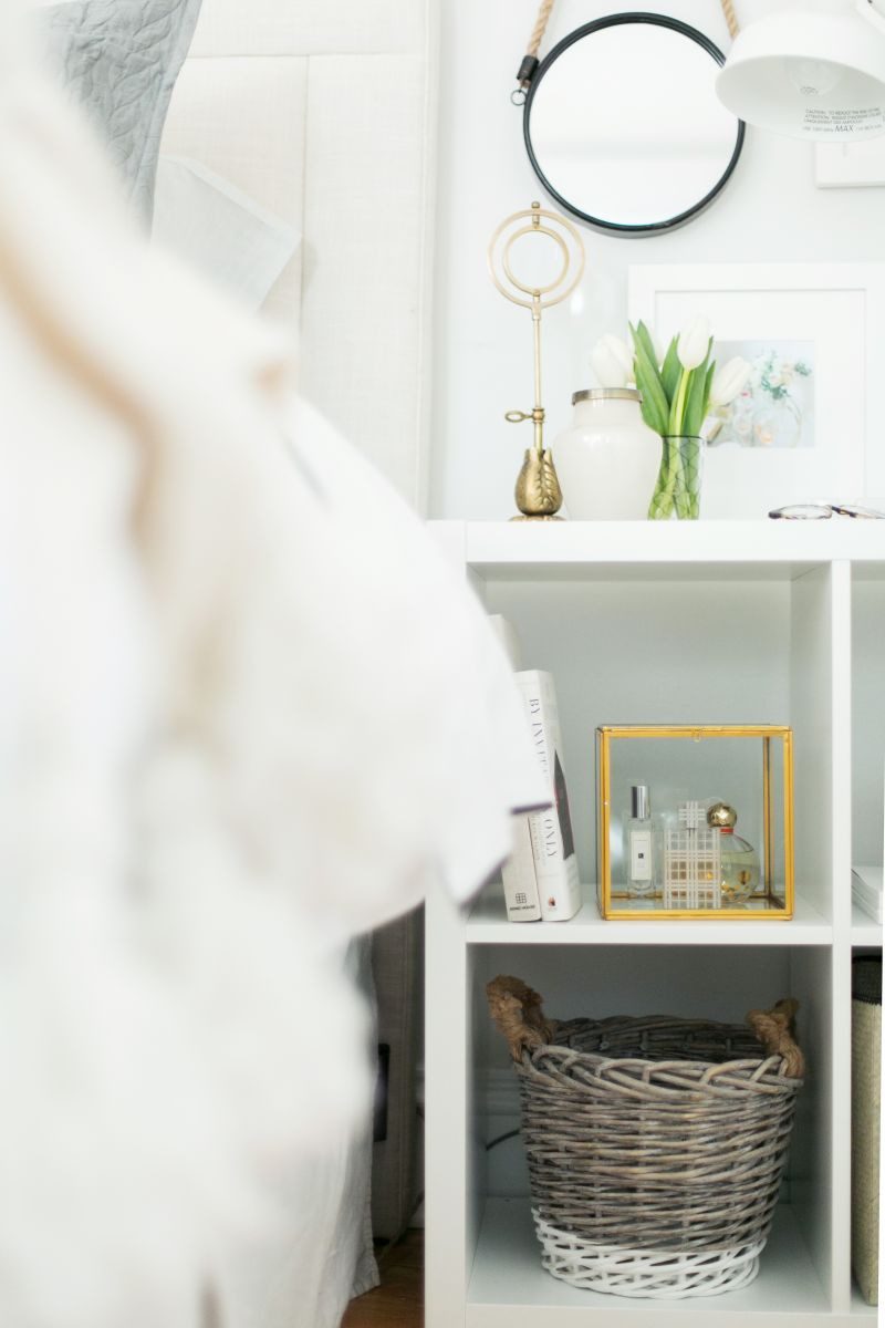 short square vases ikea of 3 ways to style and use ikeas kallax expedit shelf the everygirl inside ikea kallax as a nightstand