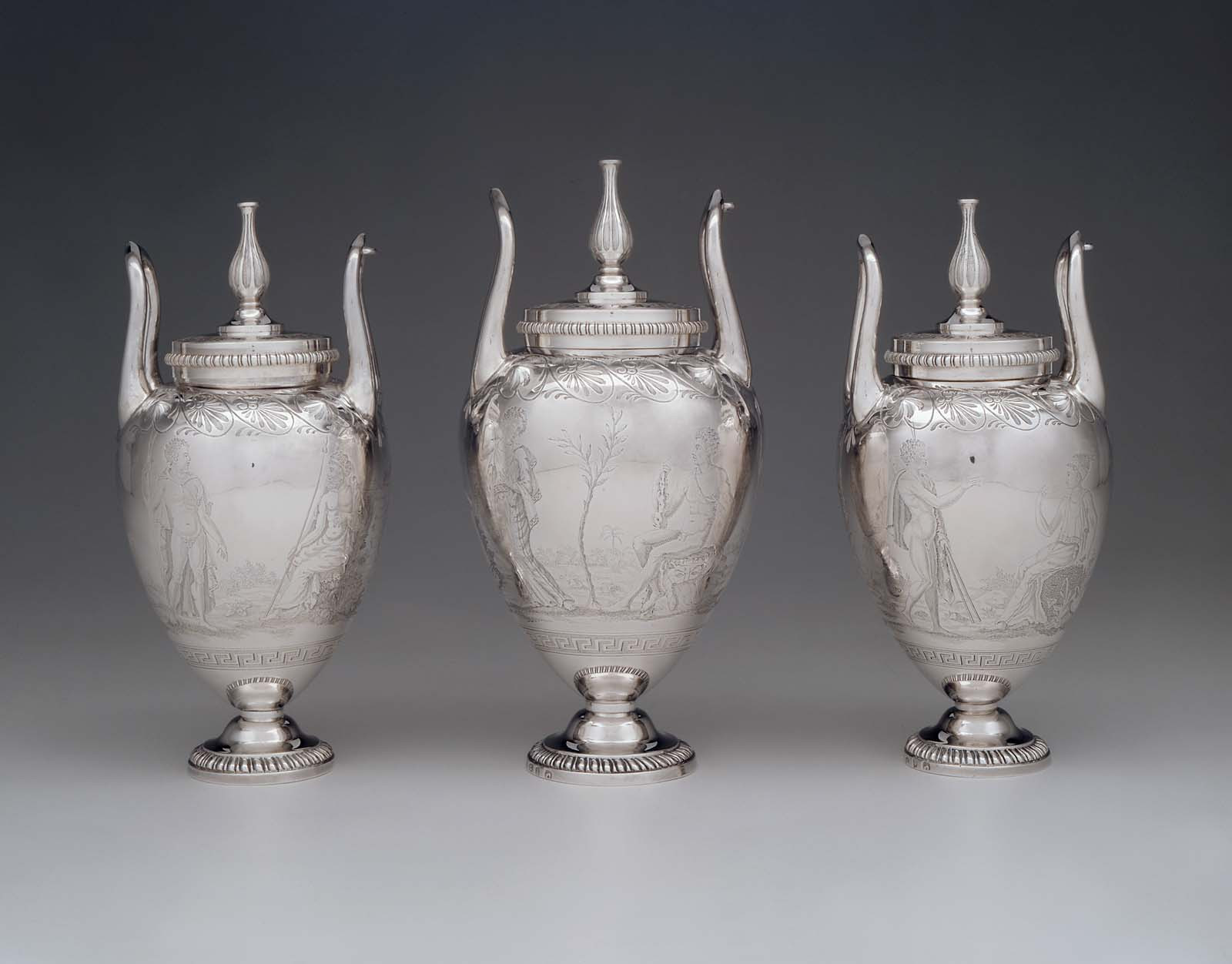 silver hammered metal vase of silver page 129 museum of fine arts boston intended for view back