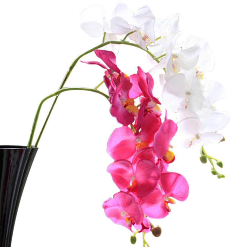 silver vase orchids of aliexpress com buy 1 pc 78cm phalaenopsis artificial orchid flower within getsubject aeproduct