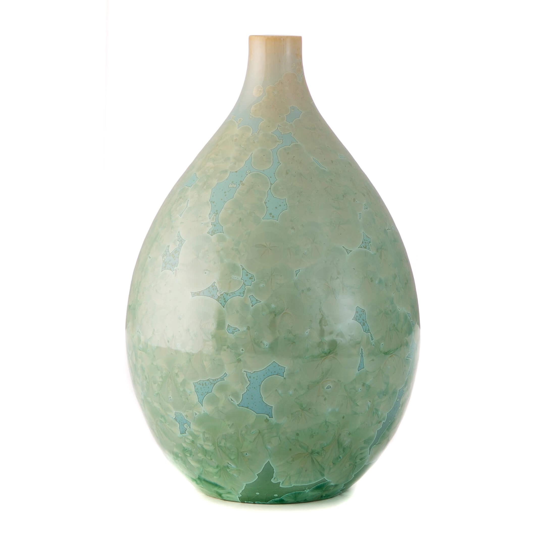 simon pearce vase sale of crystalline jade teardrop vase medium with 5337jade purecrystalline