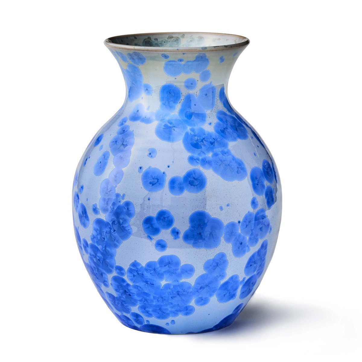 simon pearce vase sale of curio cobalt crystalline vase large with 8543 curiocrystalline vase cobalt