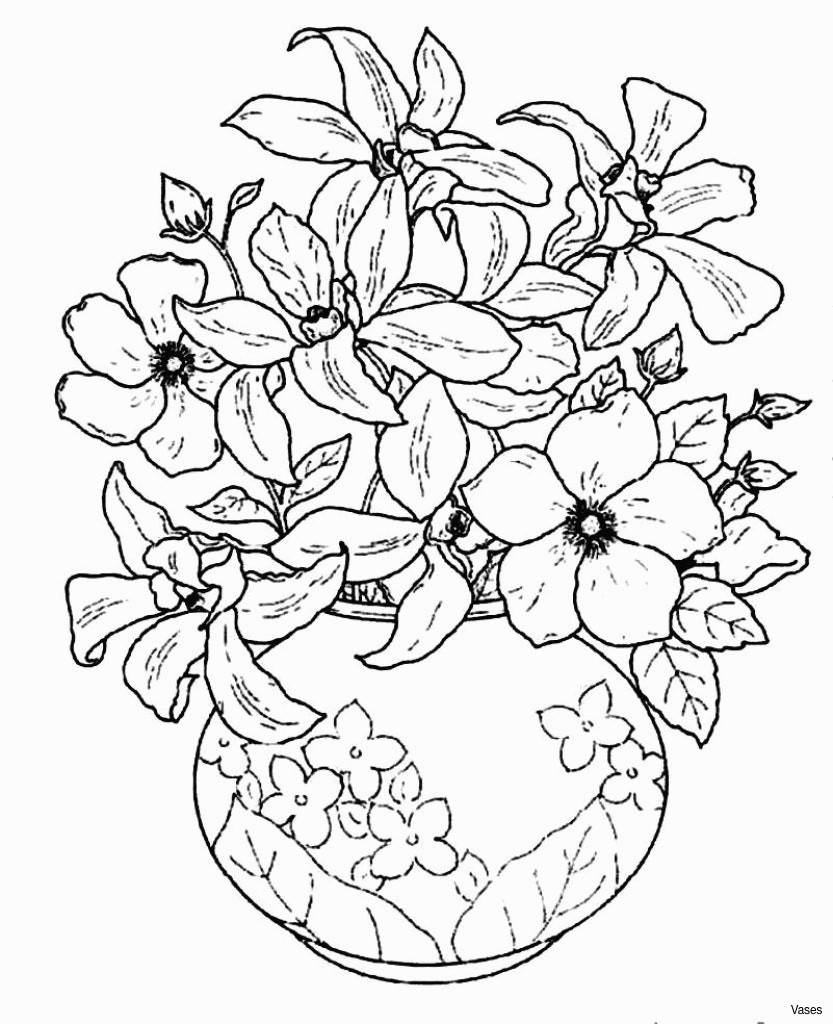 single flower vase of fresh coloring pages flowers in a vase best roses flower with regard to coloring pages flowers in a vase single