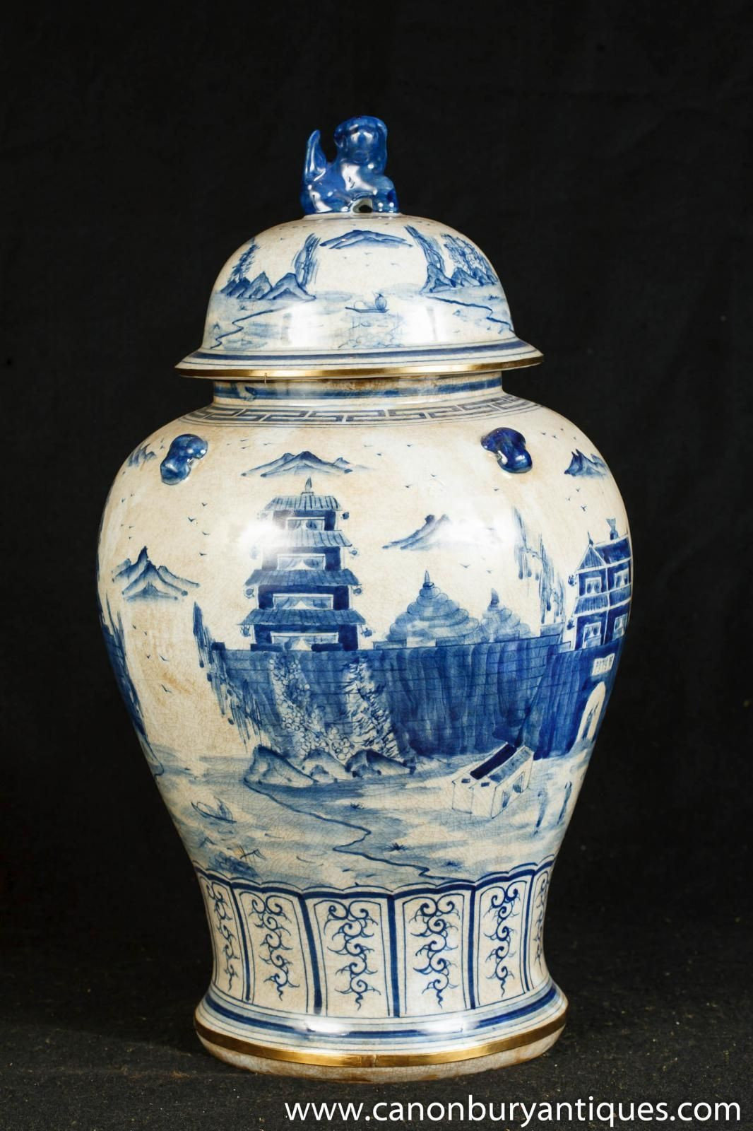 small blue and white vase of photo of single nanking pottery ginger jar blue white chinese with photo of single nanking pottery ginger jar blue white chinese porcelain vase