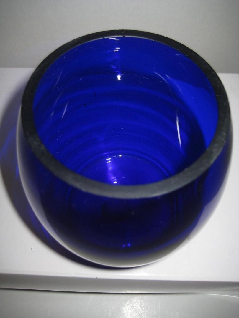 small cobalt blue vase of vase or candle holder vintage hand crafted cobalt blue glass by aac within vase or candle holder vintage hand crafted cobalt blue glass by aac rare 1802302402