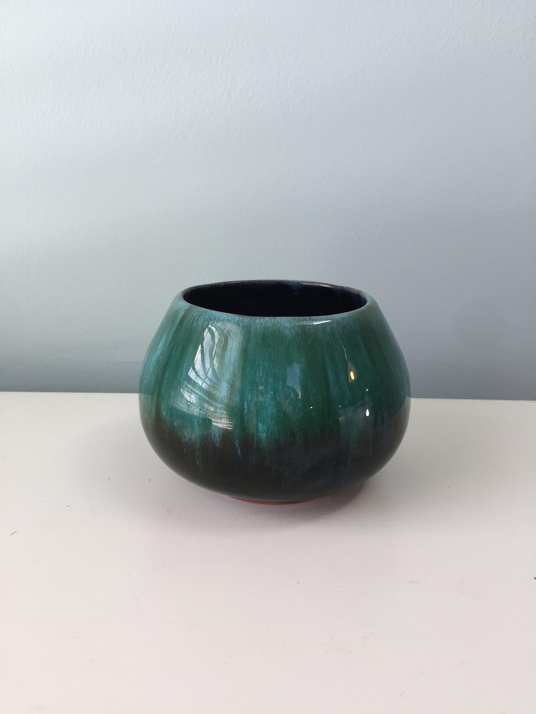 small cobalt blue vase of vintage ceramic bowl blue mountain pottery objet dart canadian regarding vintage blue mountain pottery bowl
