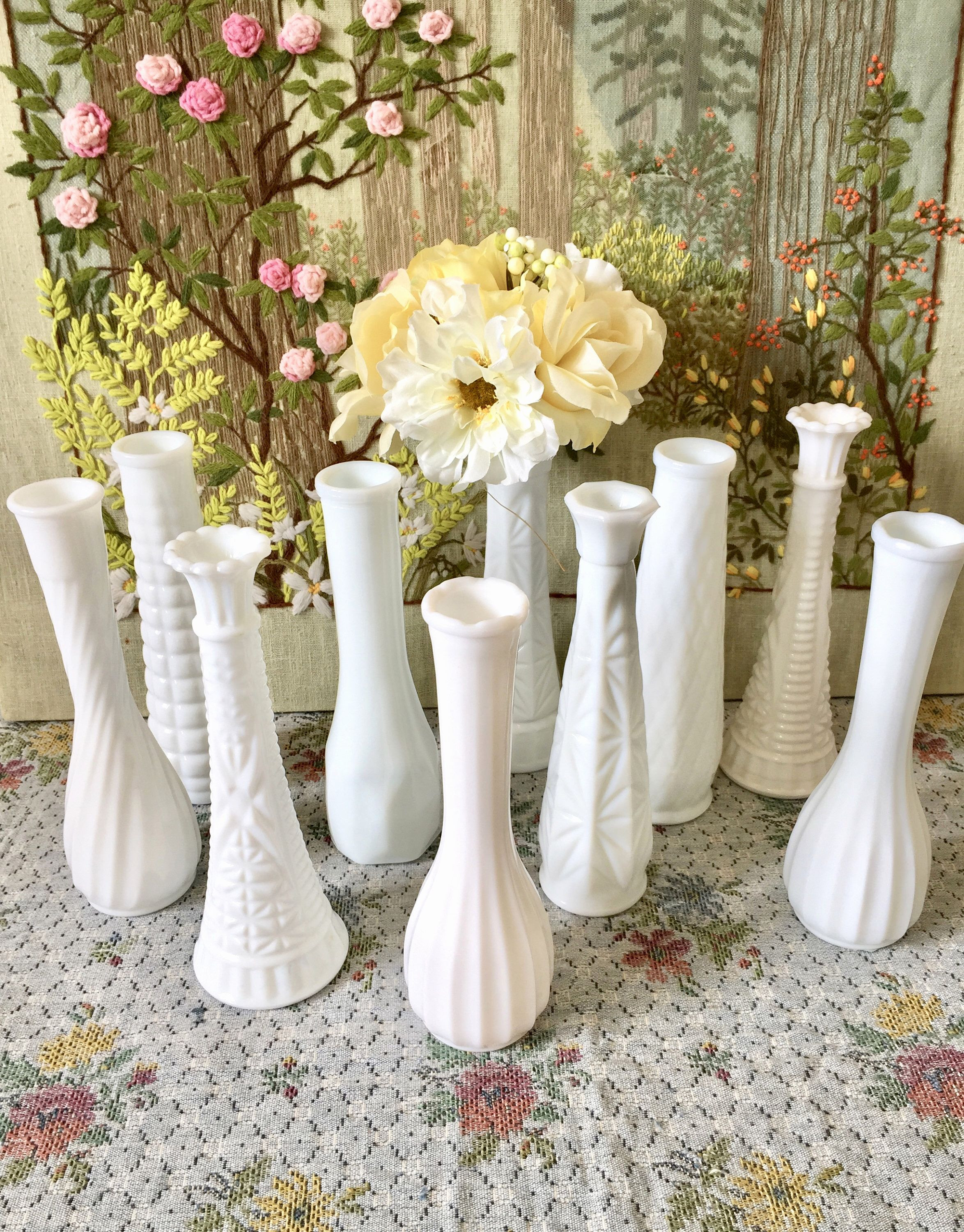 14 attractive Small Crystal Vases wholesale