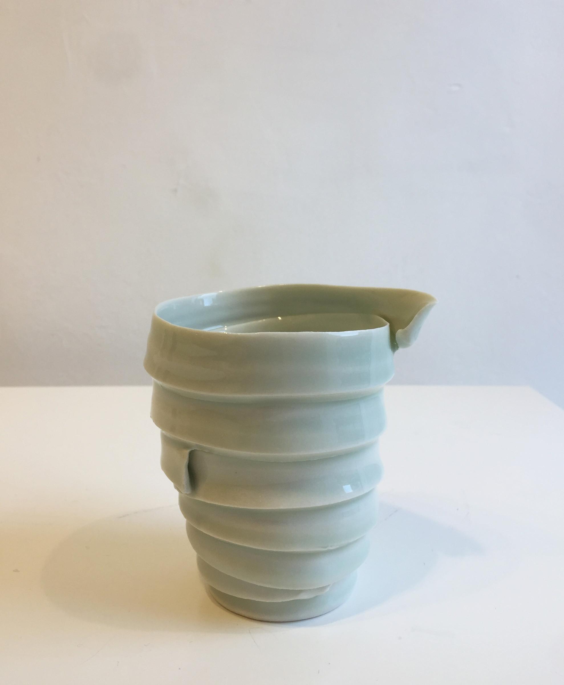 small green vase of emma jagare green ribbon vase small sarah wiseman gallery inside green ribbon vase small