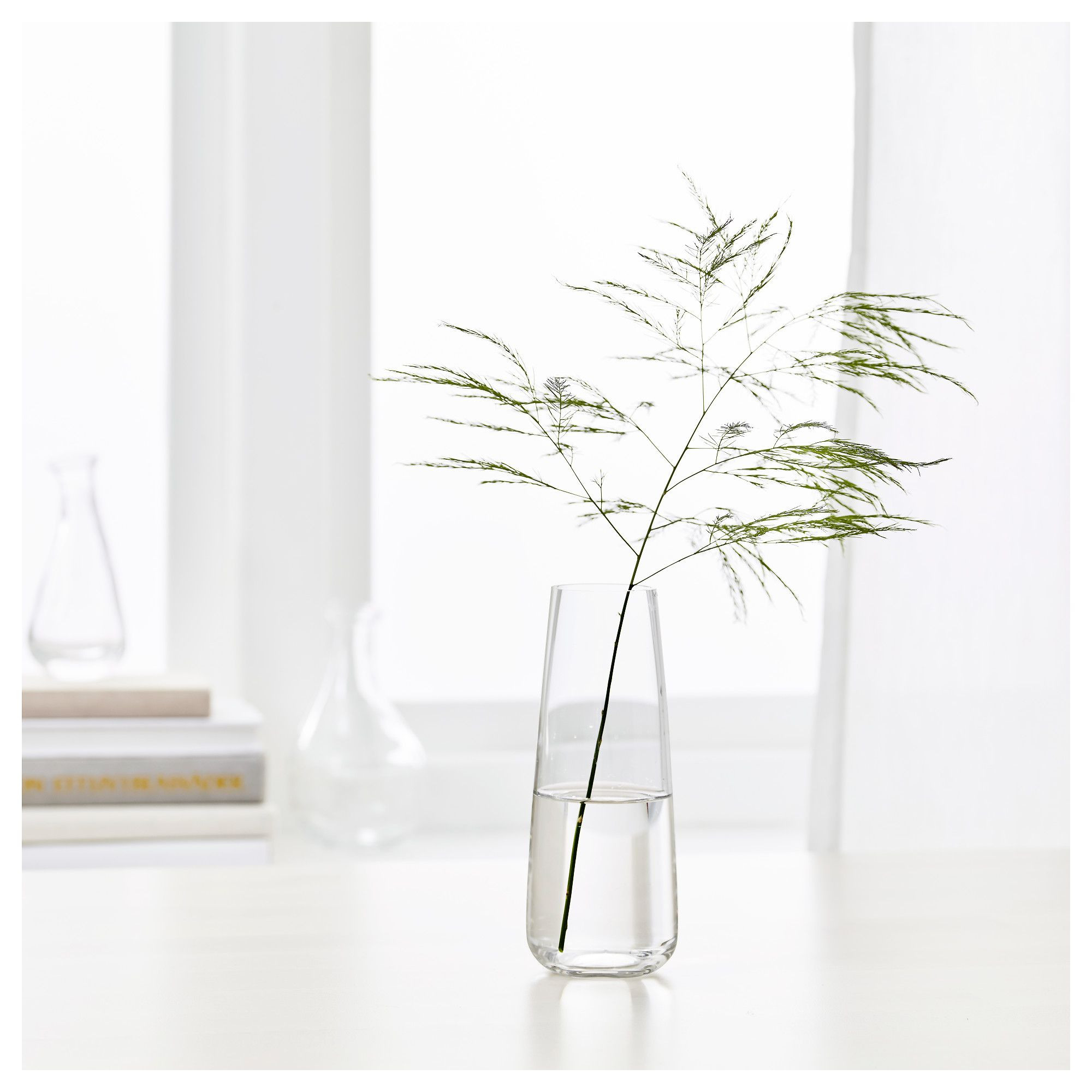 "Small Metal Flower Vases Of Ikea Bera""kna Vase Clear Glass Cag 60 Pinterest Regarding Ikea Bera""kna Vase You Can Easily Make A Beautiful Floral Arrangement with Just A Single Flower or A Twig since the Opening Of the Vase is Small"
