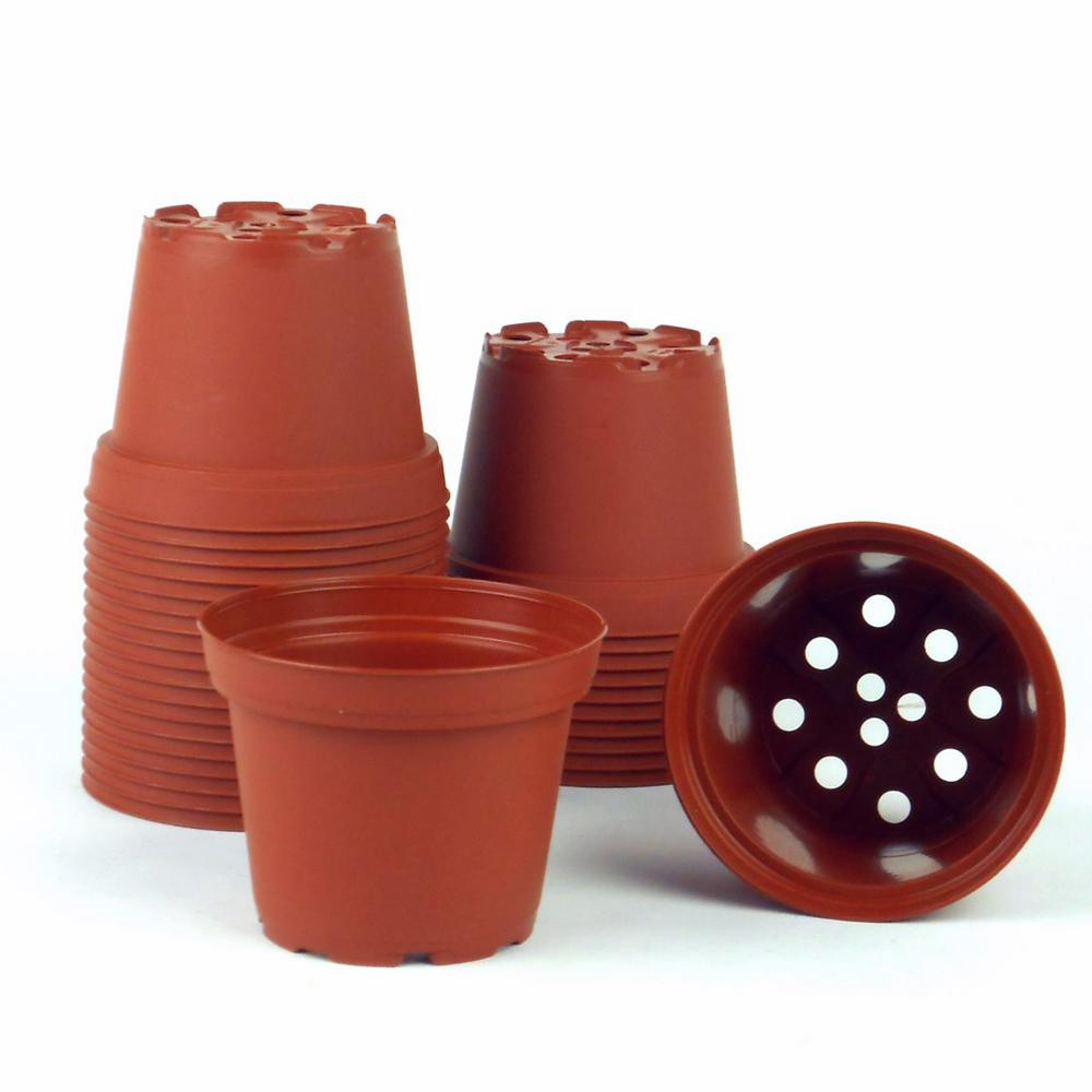 small terra cotta vases of terra cotta nursery pots planters the home depot throughout dia terra cotta pots 30 pack