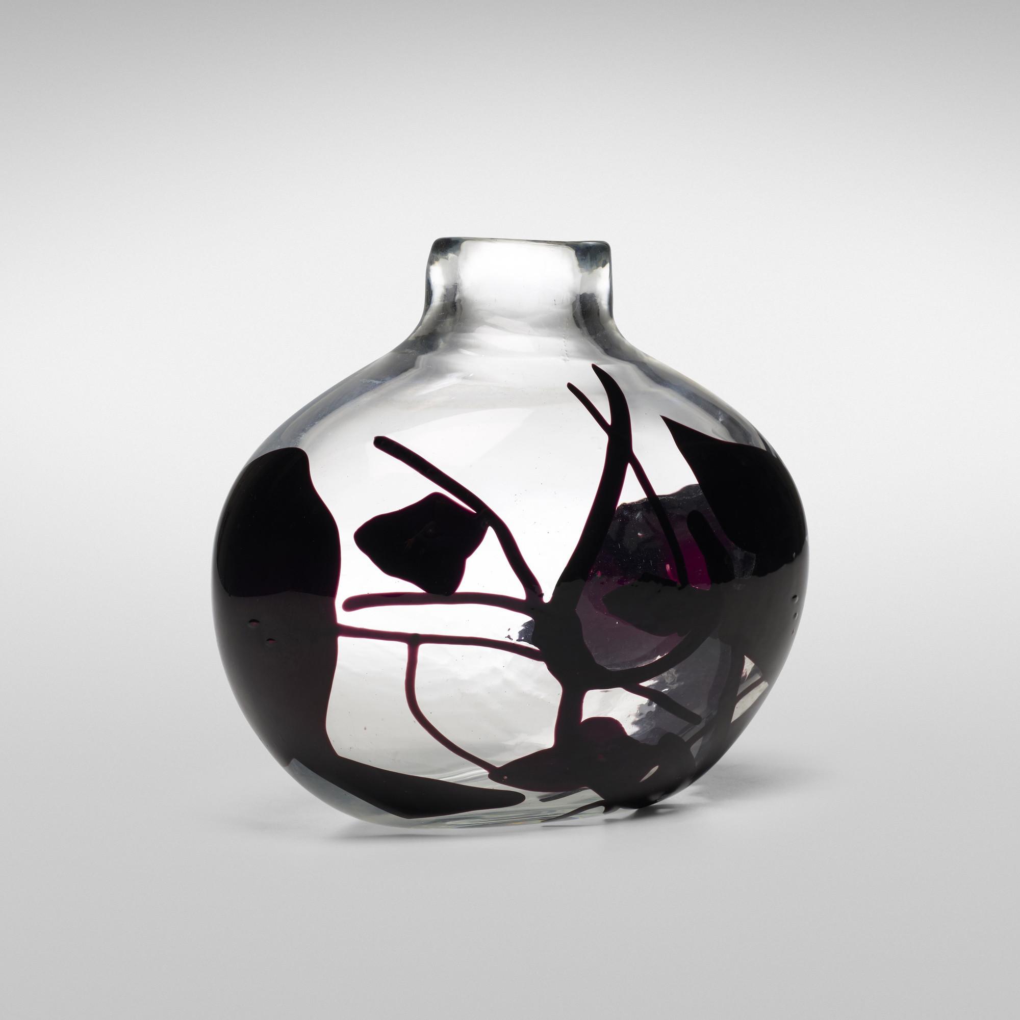 Small Vintage Glass Vases Of 139 Fulvio Bianconi Important Con Macchie Vase Model 4324 In 139 Fulvio Bianconi Important Con Macchie Vase Model 4324 2 Of 4
