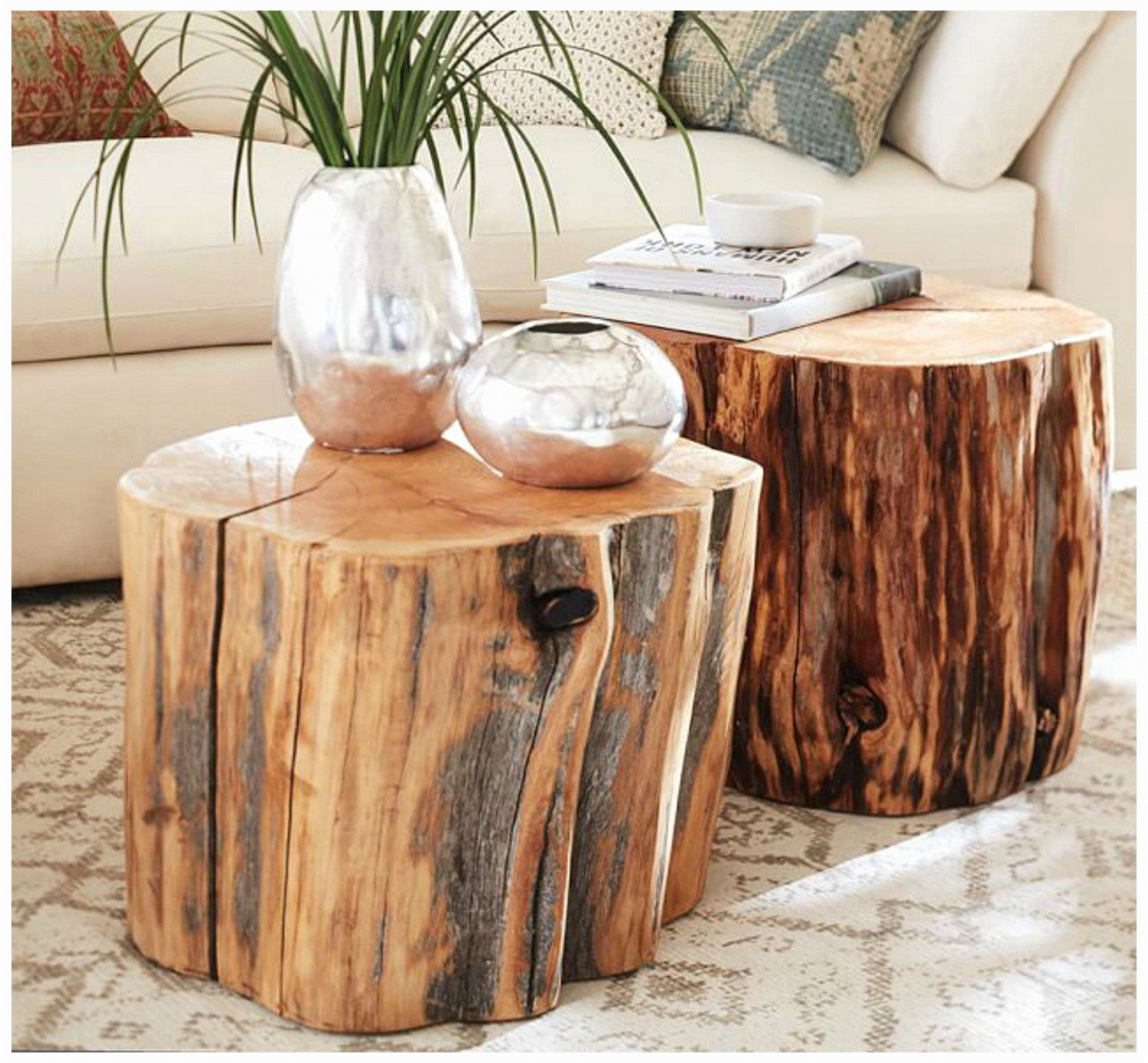 small wood vase of table with wood tree stump vases graph wood stump table 71h vases regarding home design