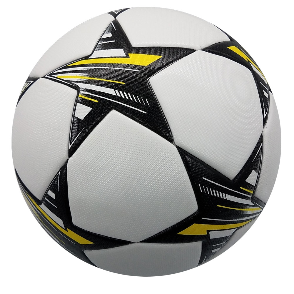 Soccer Ball Vase Of High Quality Classic Champion League Official Size 5 Football Ball Throughout High Quality Classic Champion League Official Size 5 Football Ball Seamless Pu soccer Ball Competition Train Durable Football In soccers From Sports