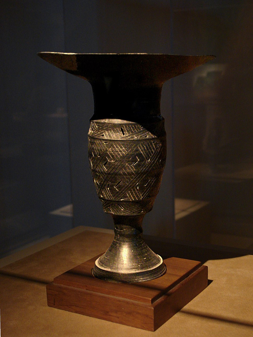 Song Dynasty Vase Of Chinese Ceramics Howling Pixel Regarding Cmoc Treasures Of Ancient China Exhibit Black Pottery Goblet