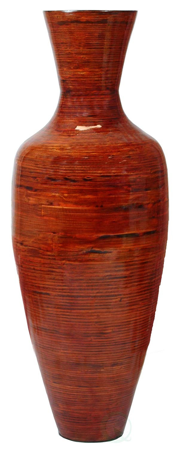 spun bamboo vase of amazon com 37 5 tall bamboo floor vase glossy red home kitchen intended for 71kvchdqrml sl1500