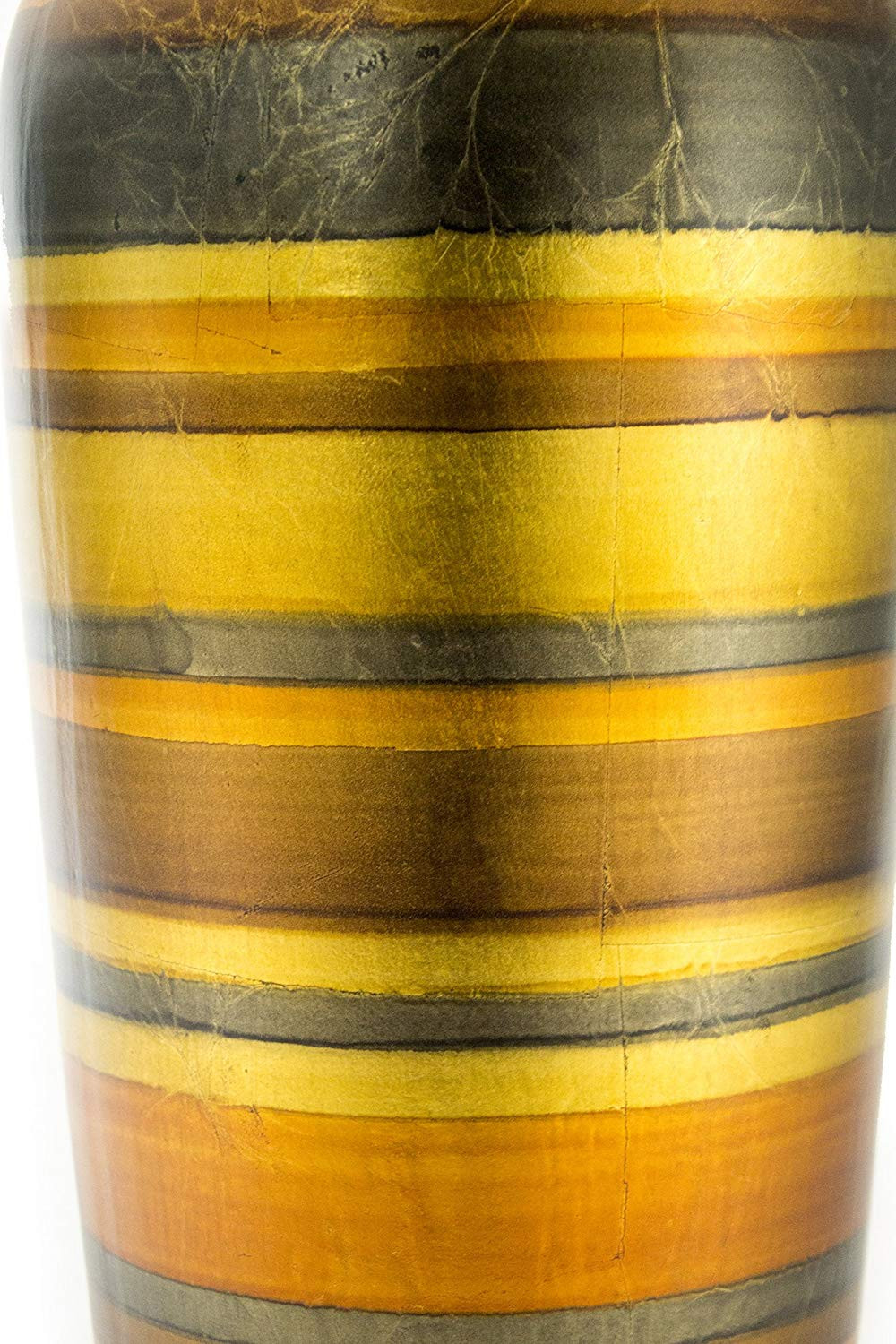 spun bamboo vase of amazon com heather ann creations stripe floor vase 20 inches throughout amazon com heather ann creations stripe floor vase 20 inches ceramic water jug home kitchen