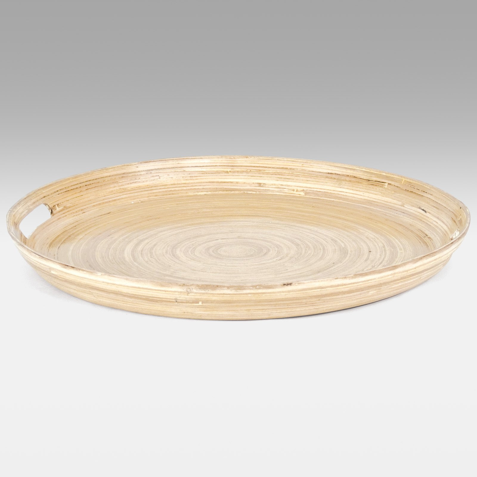 Spun Bamboo Vase Of Home Bamboo Lacquerwares Cat Dang Handicraft Co Ltd with Regard to Cd6015 Round Spun Bamboo Serving Tray Natural