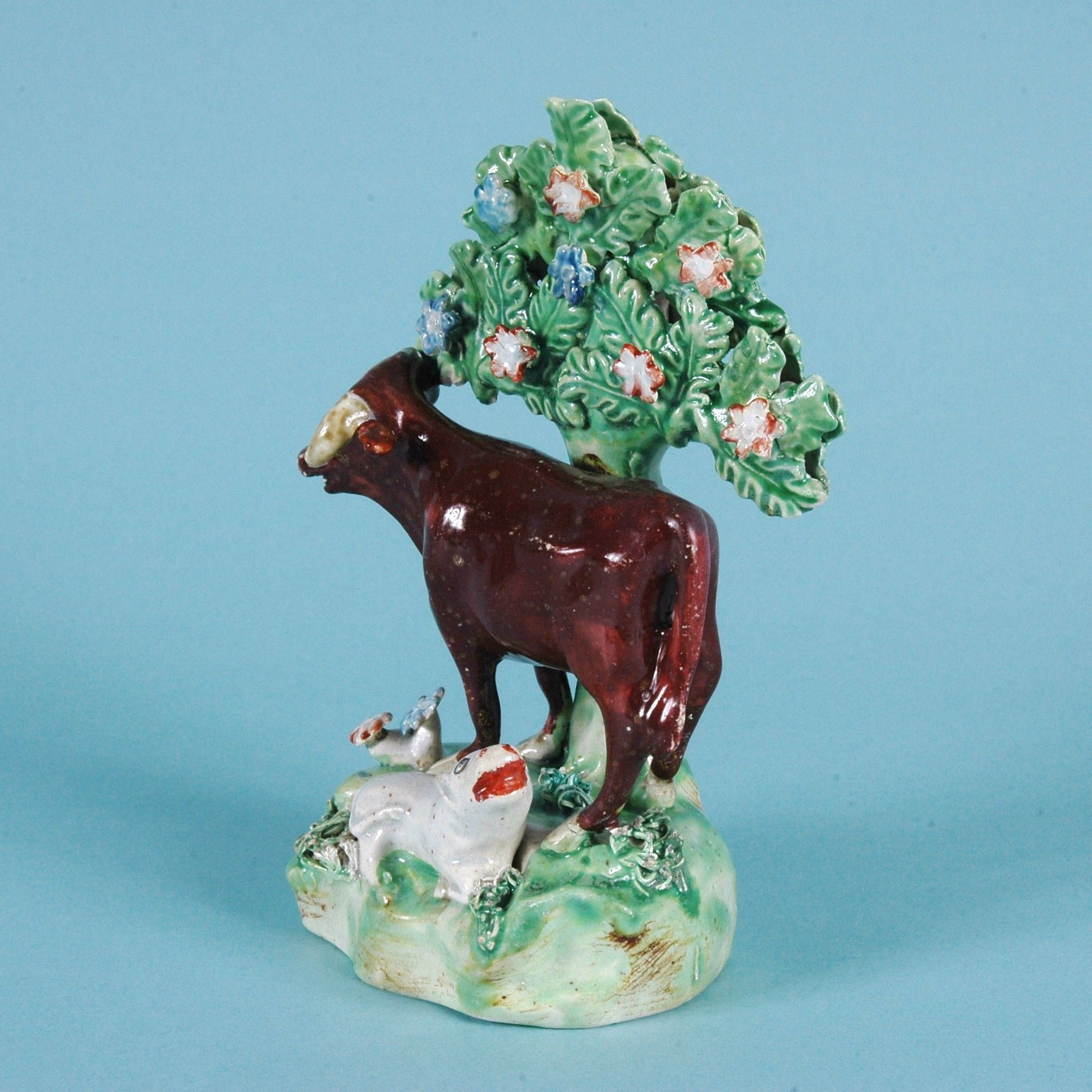 staffordshire spill vases of antique staffordshire pottery cow calf the cotswold art throughout click on an image to enlarge