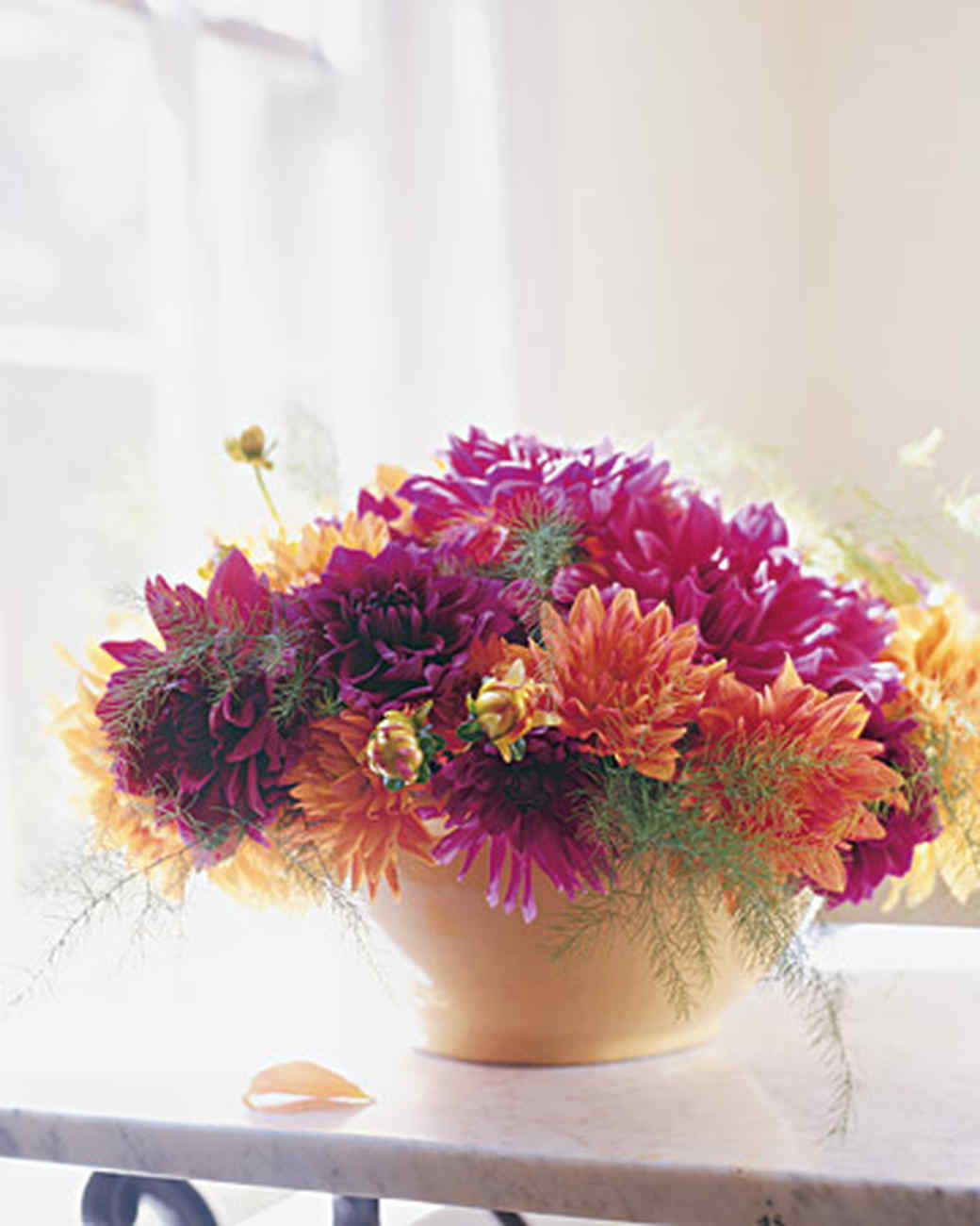 Stay In the Vase Cemetery Flowers Of Marthas Flower Arranging Secrets Martha Stewart In Mla101098 0605 Pink Dahlia Xl