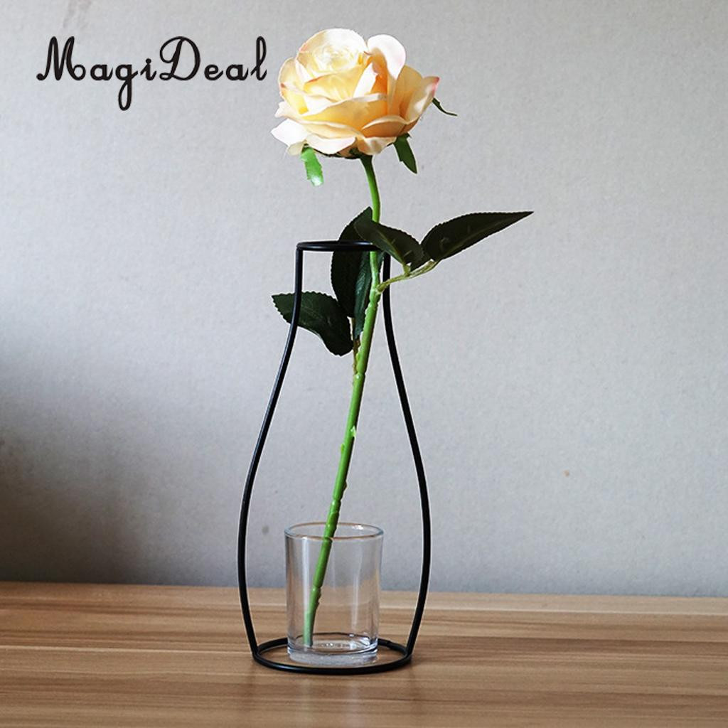 stay in the vase flower holder of magideal metal iron diy vase frame flowers stand plant holder flower within magideal metal iron diy vase frame flowers stand plant holder flower pot home table decor in vases from home garden on aliexpress com alibaba group